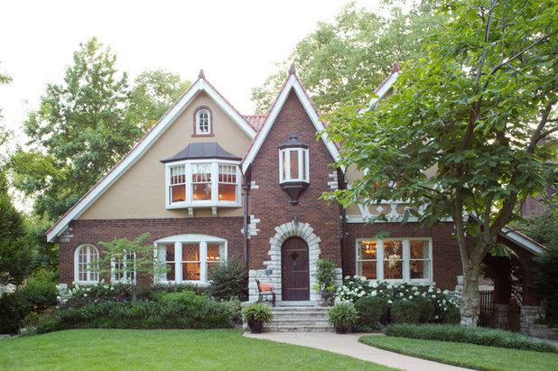Traditional Exterior by Laura Lee Home
