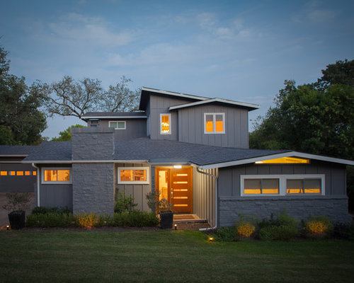 1950s ranch house remodel ideas houzz for 50s ranch exterior remodel