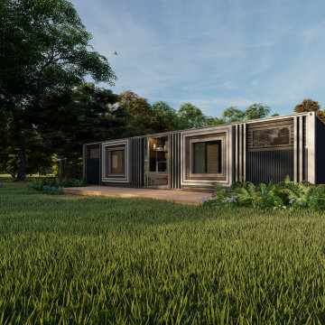 2 Bedroom Shipping Container Residence
