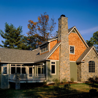 Traditional Shingle Siding Home Design Ideas Photos