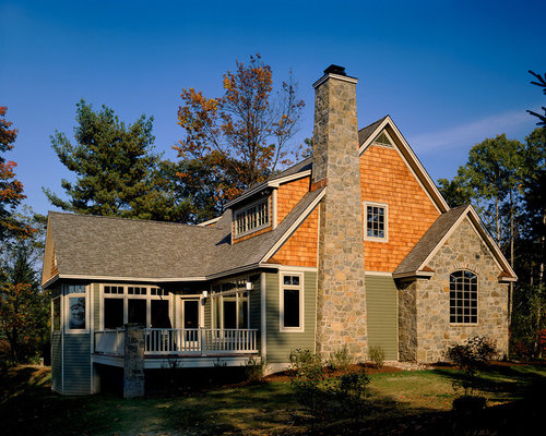 Tan Vinyl Siding Design Ideas Amp Remodel Pictures Houzz