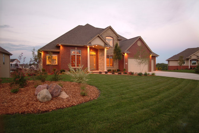 Traditional Exterior by TS Construction