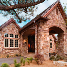Traditional Exterior by KGA Studio Architects