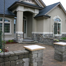 Traditional Exterior by Scott A. Whitmire Residential Designer
