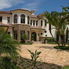 Mediterranean Exterior by Irvin Homes, LLC