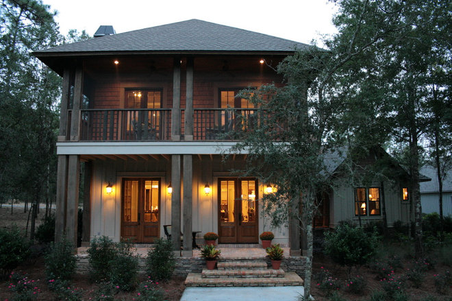 Eclectic Exterior by Chatham Home Planning