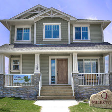 Traditional Exterior by Milestone Homes