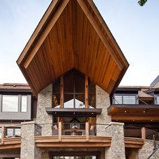 Contemporary Exterior by Eskuche Design