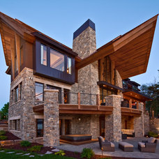 Contemporary Exterior by Eskuche Design