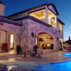 Mediterranean Exterior by Design Visions of Austin