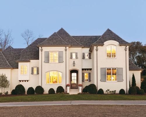 Tan Exterior Paint Home Design Ideas Pictures Remodel