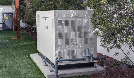 can a central AC run off a portable generator?