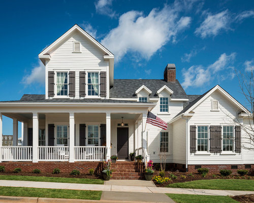 White House Gray Shutters Home Design Ideas Pictures
