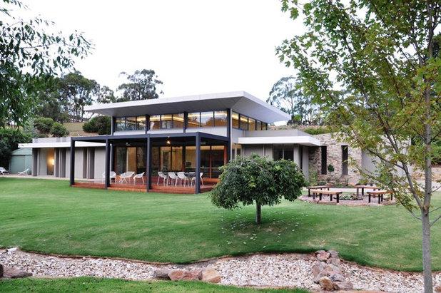Modern Exterior by Building Designers Association of SA