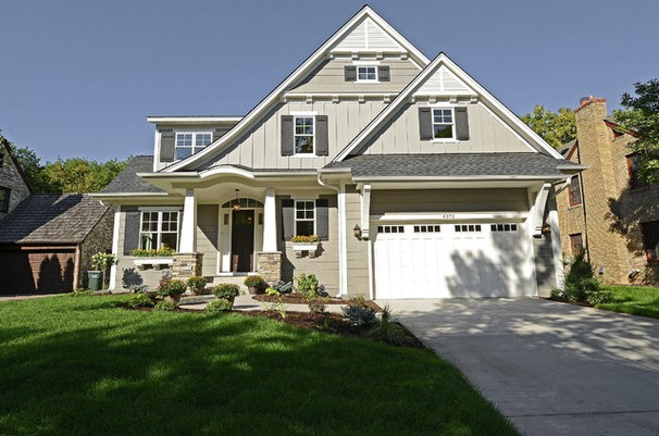 Traditional Exterior by Highmark Builders