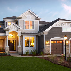 Traditional Exterior by Tim O'Brien Homes