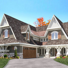 Traditional Exterior by TC Homebuilders Inc