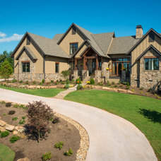 Rustic Exterior by Dillard-Jones Builders, LLC