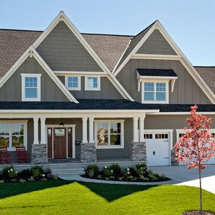 75 Craftsman Exterior Home Design Ideas - Stylish Craftsman Exterior ...