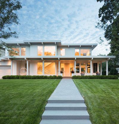 Contemporary Exterior by BATC-Housing First Minnesota