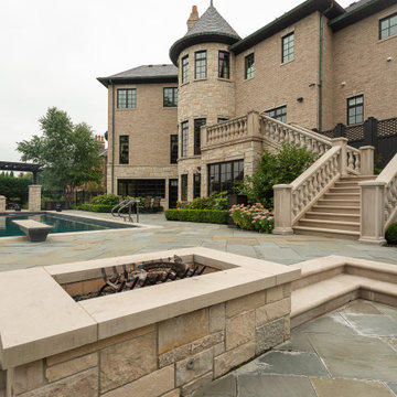 2020 - ILCA Excellence in Residential Landscape Gold - Suburban Retreat