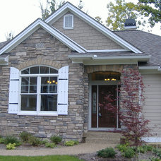 Traditional Exterior by TJP Designs and Construction LLC