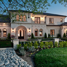 mediterranean exterior by W Architectural Photography