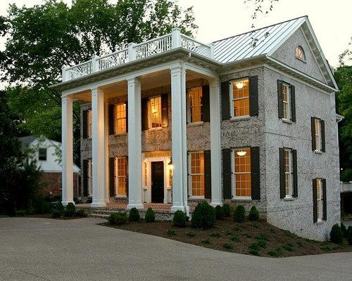 Brick lime wash home design ideas renovations photos - Lime wash paint exterior design ...