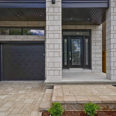 Contemporary Exterior by Masterplan Residential Drafting and Design