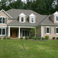 Transitional Exterior by Myers Homes