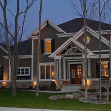 Traditional Exterior by Hearth & Stone Builders