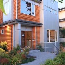 Contemporary Exterior by Halex Architecture