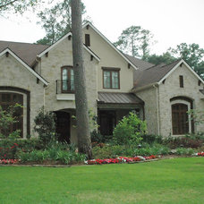 Traditional Exterior by Rice Residential Design