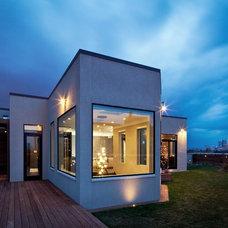 Contemporary Exterior by Foster Design Build LLC