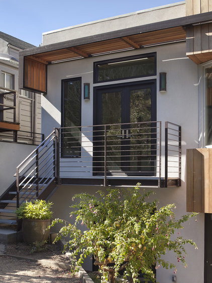 Contemporary Exterior by Levy Art & Architecture