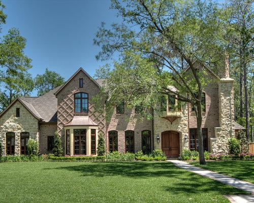 Stone Brick Shake Combination Home Design Ideas Pictures