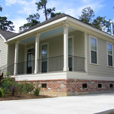 Traditional Exterior by Brandon Construction Co. Inc.