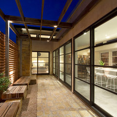 modern exterior by Richard Wintersole Architect