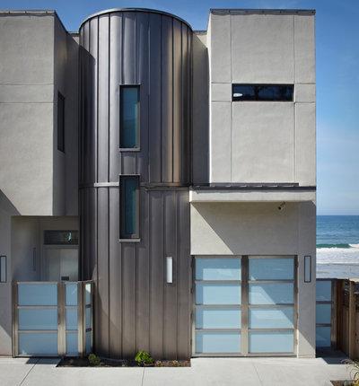 Contemporary Exterior by Allen Construction