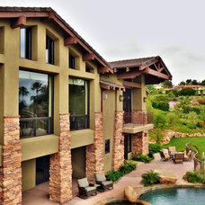 Craftsman Exterior by Elevation Architectural Studios