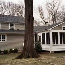 Traditional Exterior by Joseph M Marchese, Architect