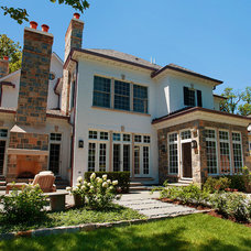 Contemporary Exterior by Heritage Luxury Builders