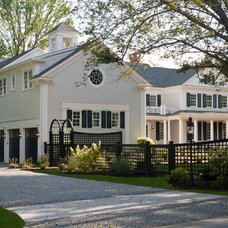 Traditional Exterior by Hope Beckman Design