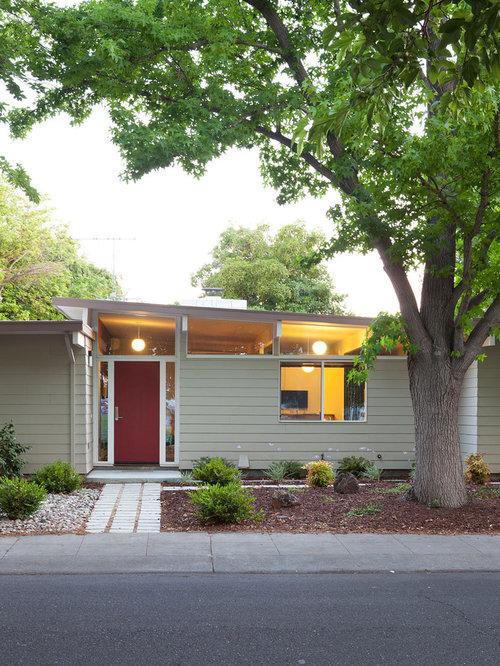 mid century modern home exterior paint colors mid century exterior. Black Bedroom Furniture Sets. Home Design Ideas