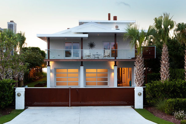 Contemporary Exterior by Tongue & Groove