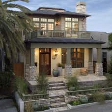 Craftsman Exterior by David Watson Architects