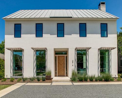 transitional exterior home design ideas, remodels & photos
