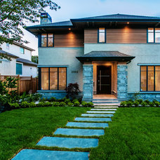 Transitional Exterior by Rdon Construction