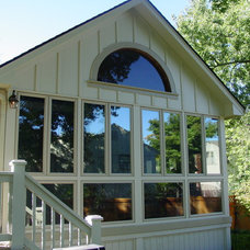 Traditional Exterior by Outdoor Environments Inc