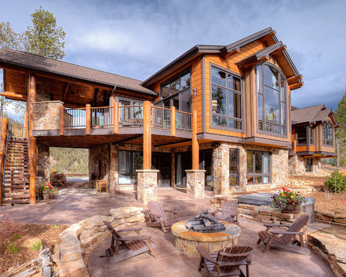 saveemail pinnacle mountain homes - Rustic Mountain Home Designs